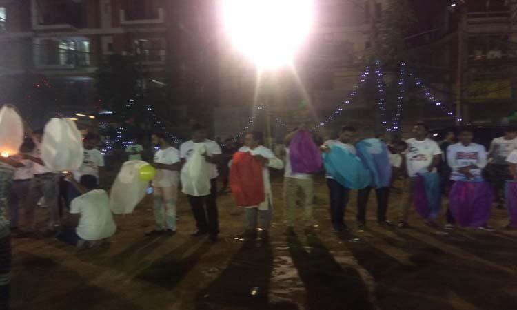 বঙ্গবন্ধুর জন্মশতবর্ষ উদযাপনে রাজধানীতে ফানুস ও আতশবাজী উৎসব